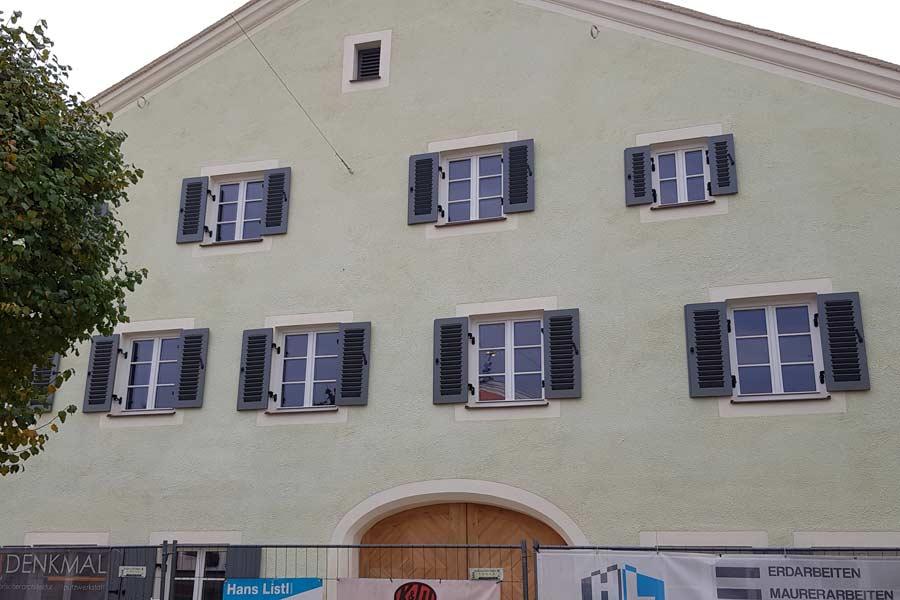 Sanierung des Rauchhauses in Kelheim