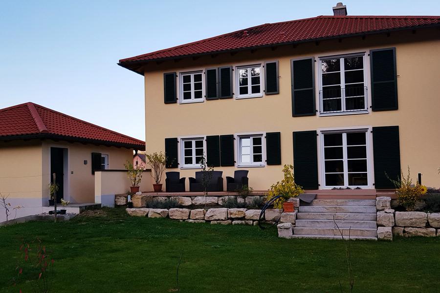 Mediterranes Einfamilienhaus